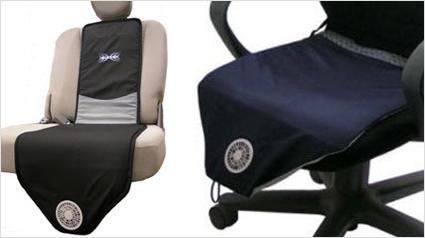 cool cushion k hlendes kissen f r autositze. Black Bedroom Furniture Sets. Home Design Ideas