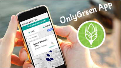 Upyama OnlyGreen App.
