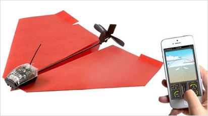 PowerUp 3.0 - Ein ferngesteuertes Papierflugzeug