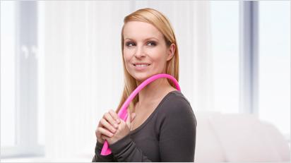 MassageFee® Gerät für die Selbstmassage.