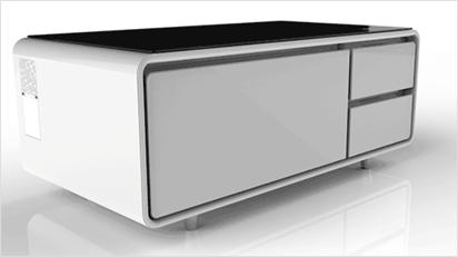 Schlicht designt, passt der Sobro in viele moderne Wohnzimmer: