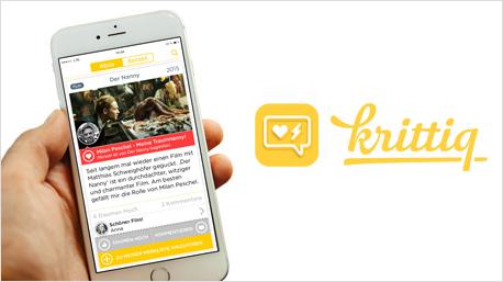kritiq - App für Film- und Serienfans.