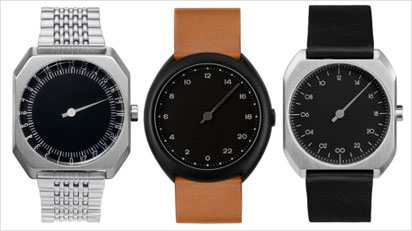 Eine Auswahl der Slow Uhren.