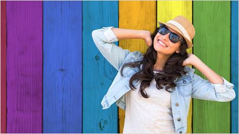 Die Enchroma Brillen lassen Menschen mit Farb-Sehschwäche wieder alle Farben erkennen.