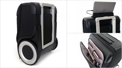 G-RO - der Rollkoffer mit den großen Rädern