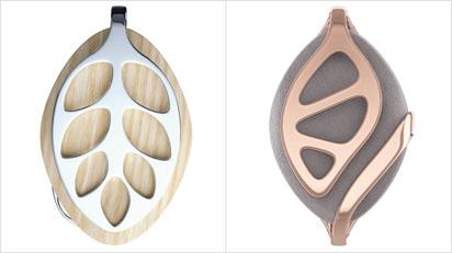 Den Gesundheitstracker gibt es in zwei Designs: Leaf Nature und Leaf Urban - jeweils in den Farben Silber und Roségold.