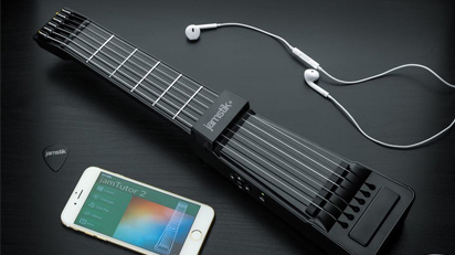 gitarre spielen lernen ohne gitarre. Black Bedroom Furniture Sets. Home Design Ideas