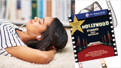 Fünf Hörbücher mit Starstimmen versetzen Dich in Hollywood-Stimmung