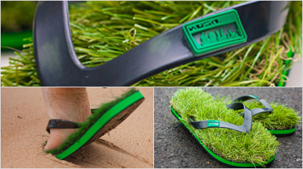 wholesale dealer 015ab 04d62 Kusa Flip-Flops: Barfuß auf Gras.