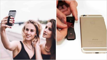 Mit MrStraps fällt das Handy beim Fotografieren nie mehr herunter. Das Tool ist dezenter als ein Selfiestick, aber mindestens genauso praktisch beim Schießen von Selfies.