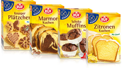Ruf Backmischungen Fur Glutenfreie Kuchen