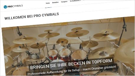 toptrnd - Schlagzeug-Becken reinigen und bedrucken lassen