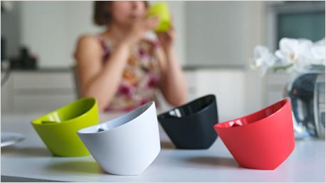 Kippbare Teetassen von Magisso