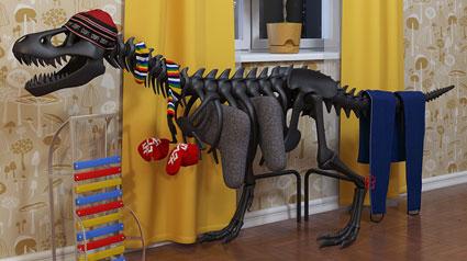 thermosaurus der etwas andere heizk rper. Black Bedroom Furniture Sets. Home Design Ideas