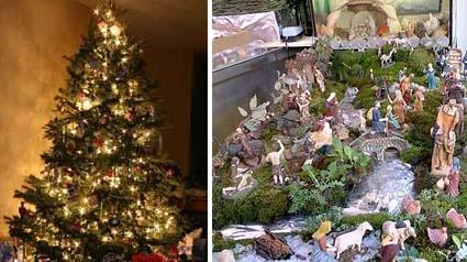 Decoraci n navide a for Como decorar un belen de navidad