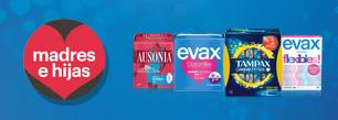 Evax, Tampax y Ausonia
