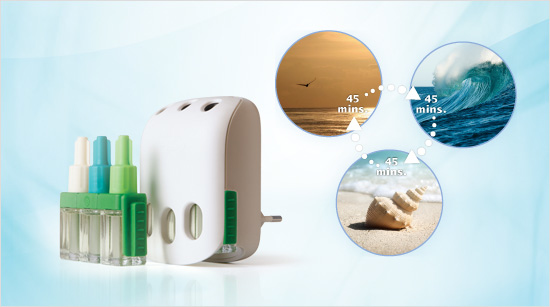 mientras que con Ambi Pur 3volution mantendremos nuestra casa perfumada todo el día, alternando tres aromas distintos.