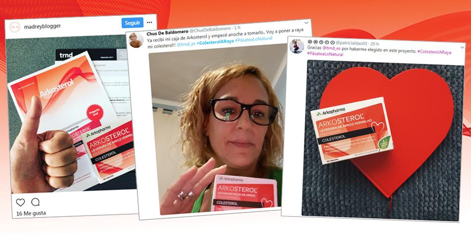 Arkosterol en redes sociales