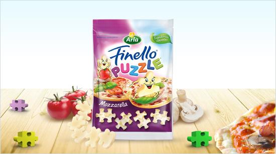 Arla Finello Puzzle es una mozzarella suave y cremosa…