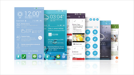 Con la interfaz ZenUI desarrollada únicamente para ASUS, se ofrece un recorrido cómodo y práctico por teléfono.