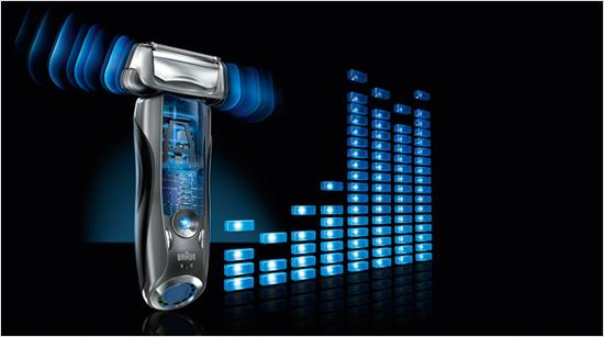 … otros 200 experimentaremos con la Series 720, la afeitadora de Braun con tecnología sónica que analiza nuestras facciones y se adapta a sus características…