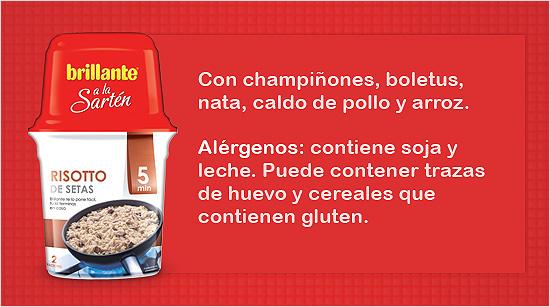 Risotto de setas: probablemente uno de los platos más populares de la cocina italiana. El resultado es un plato de arroz con setas con una textura cremosa.