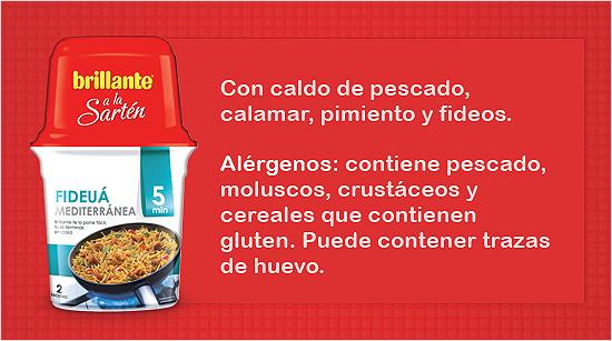 Fideuá mediterránea: receta inspirada en un plato marinero de la costa levantina. Similar a la paella, pero sustituyendo el arroz por fideos de pasta.