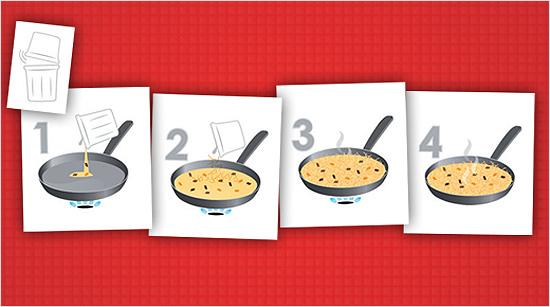 Vierte el caldo en una sartén y cuando hierva, incorpora el arroz o los fideos. Espera 5 minutos (hasta que la textura sea la adecuada para cada receta), apaga el fuego, deja reposar un par de minutos, ¡y listo! ¿Nos lanzamos a la aventura? :)