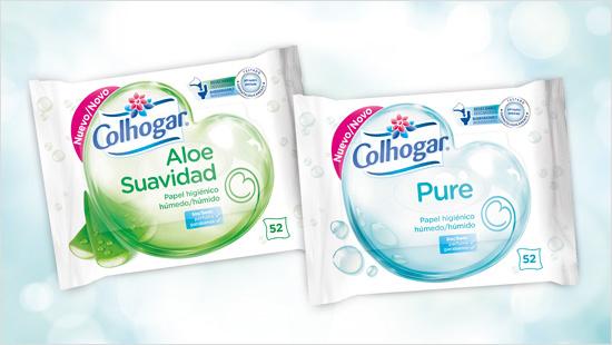 Colhogar amplía su gama con el papel higiénico húmedo…