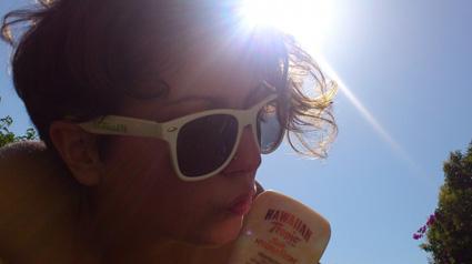 Nos protegemos de los rayos solares con Silk Hydration