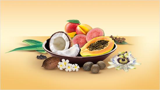 … que cuida nuestra piel gracias a una fórmula rica en vitaminas y extractos de flores y frutas…