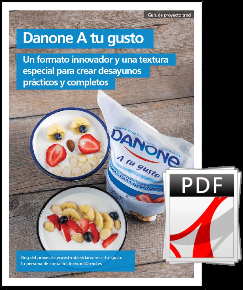 Guía de proyecto Danone a tu gusto
