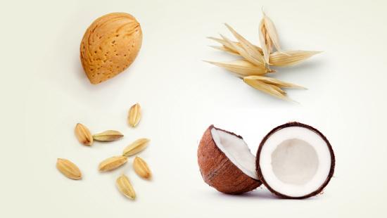 … elaborados a partir de bebidas de almendra, avena, arroz y coco…