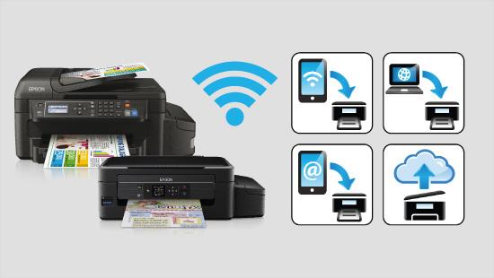 Gracias a su conexión Wi-Fi, la impresora Epson EcoTank nos permite imprimir desde cualquier lugar sin necesidad de cables.