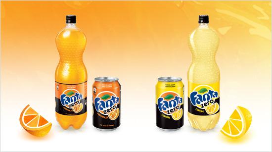 … con dos sabores diferentes: Naranja y Limón.