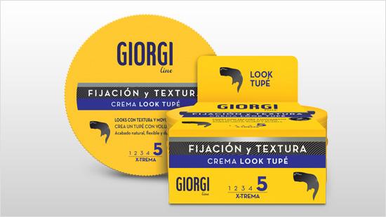 La nueva Crema Look Tupé de Giorgi gracias a su fórmula con Tecnología Mineral permite...