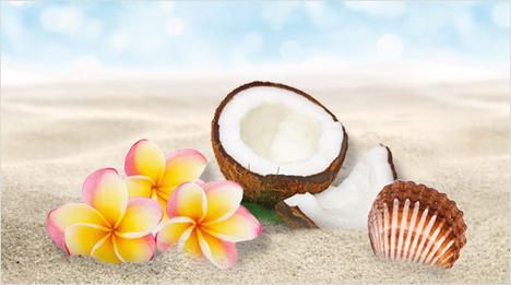 ... que contiene todos los ingredientes típicos de Hawái...