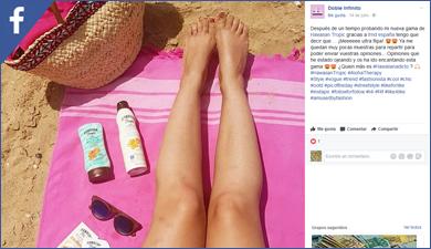 Hawaiian Tropic en Facebook
