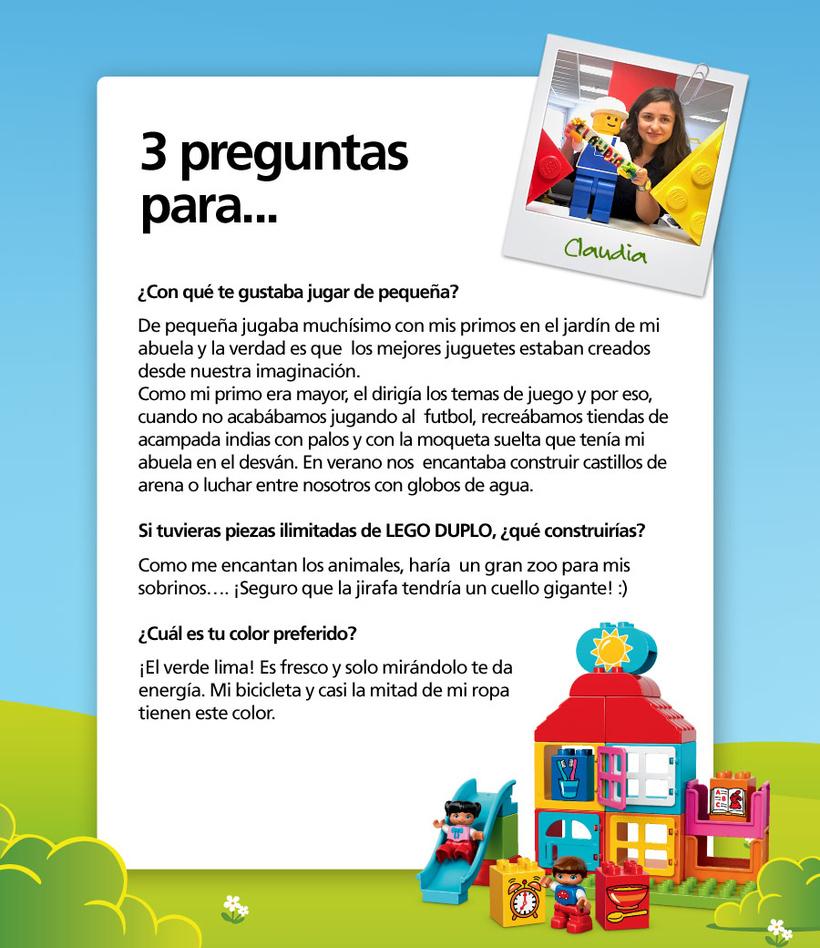 Claudia de LEGO