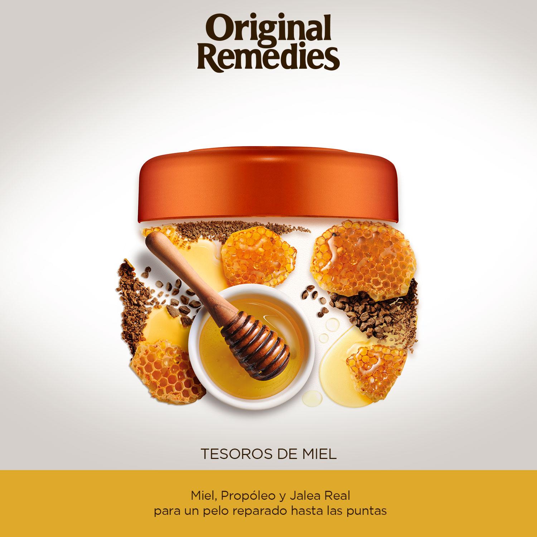 Mascarilla Tesoros de miel