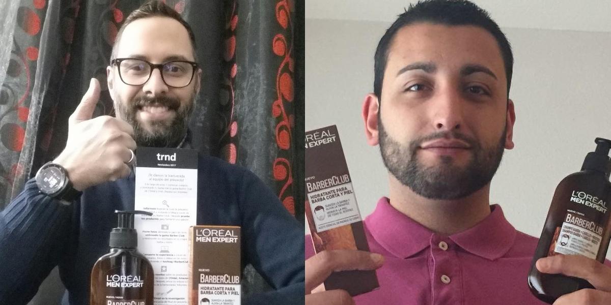 Los trndianos Apolov6 y Juanjoyaiba descubriendo el pack BarberClub