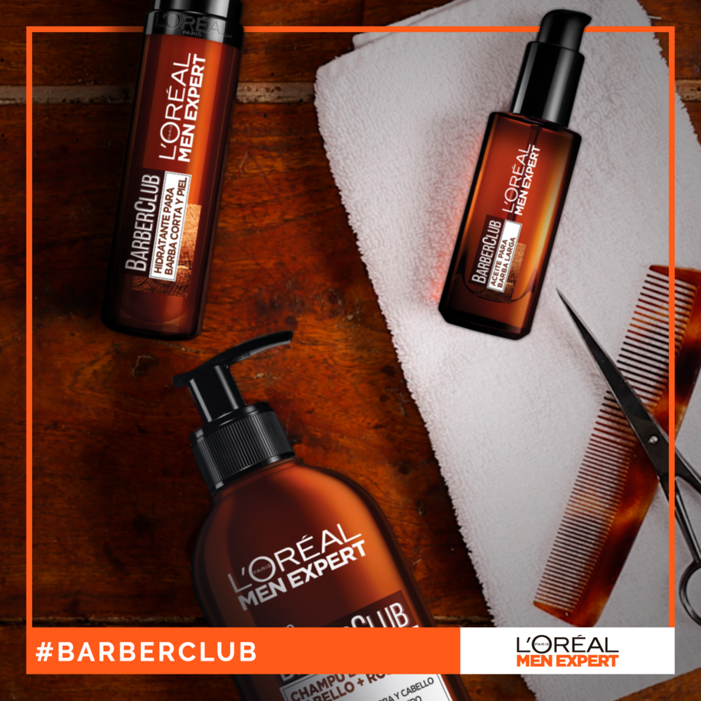 La gama BarberClub