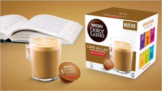 Una nueva bebida aterriza en el mercado: se trata de NESCAFÉ Dolce Gusto Café con leche Descafeinado…