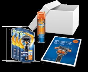 Pack de inicio Gillette Fusion ProGlide con Tecnología FlexBall