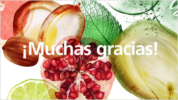 ¡Gracias Fructis!