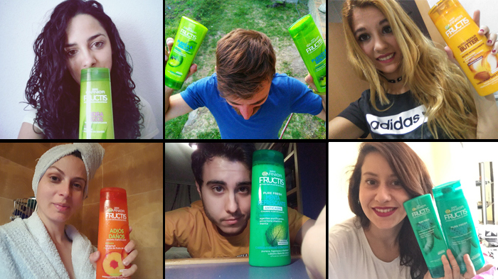Los participantes de New Fructis