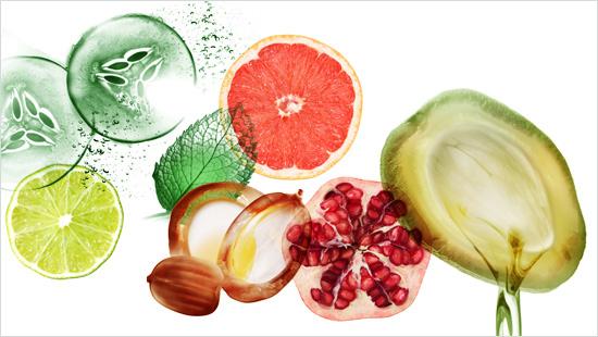 … con una fórmula a base de extractos de frutas y plantas, y 100% sin parabenos para un cabello más sano.