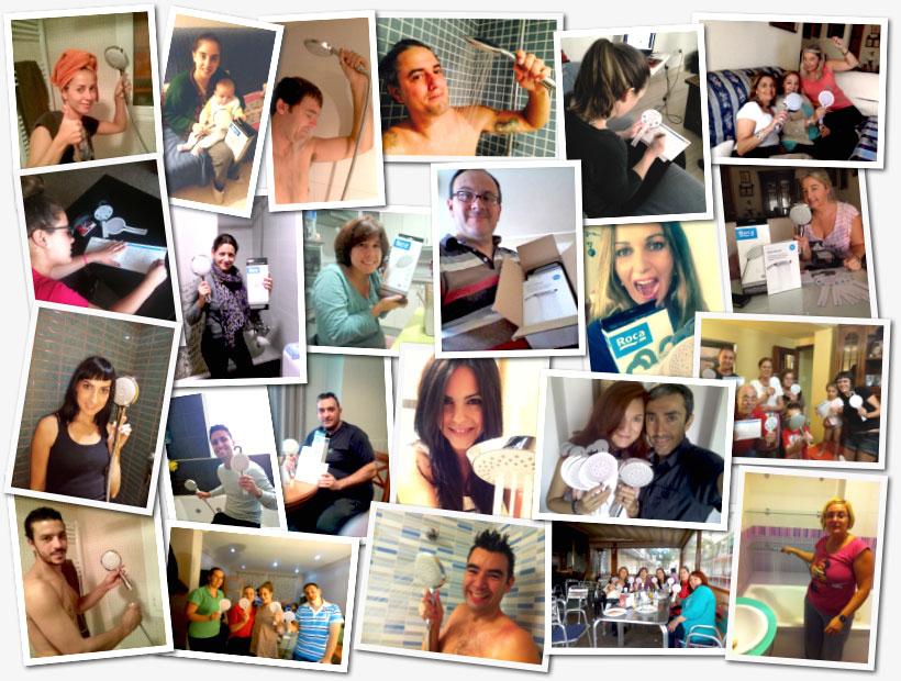 Los participantes del proyecto Roca Sensum