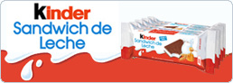 Blog Kinder Sandwich de leche