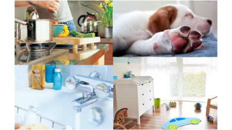 Por eso es tan importante una buena desinfección en el hogar, especialmente en cocinas, baños, zona de mascotas, zona de bebé o incluso en los textiles…